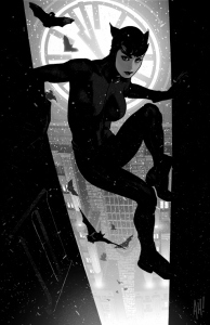 Catwoman #64 by Adam Hughes